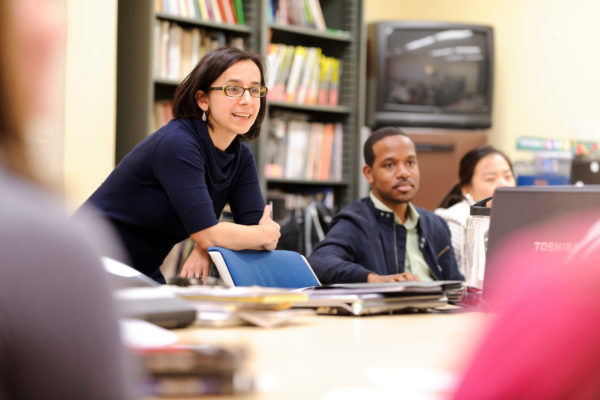 UW-Madison assistant professor of curriculum and instruction, teaches a graduate-level, identity-and-learning class